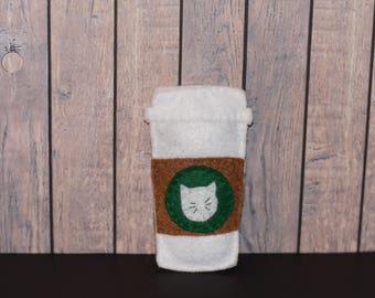 Starbucks Hand-sewn Catnip Toy