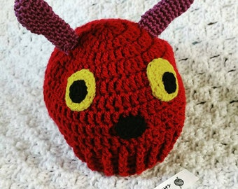 Hungry Caterpillar beanie hat