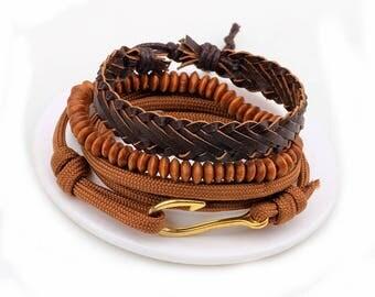 Fish Hook Design bracelet set