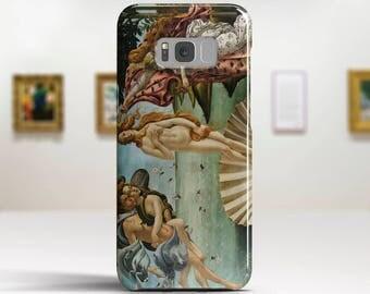 "Sandro Botticelli, ""The Birth of Venus"". Samsung S8 Case, Samsung S7 Case, Samsung S6 Case, Huawei, LG, Google Pixel Cases. Art phone cases."