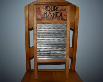 Washboard vintage home decor