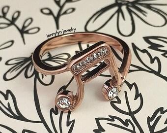 Musician Ring / Rosegold