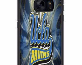 Custom UCLA Bruins Phone Case for Samsung Galaxy S8 S8 Plus Apple Iphone 6 6s plus 7 plus  S7 S7 edge