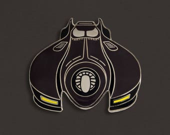 Burton Batmobile Enamel Pin