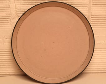 Gathering Platter in Rouse Pink Glaze
