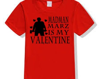 Madman Marz Slasher Camp Killer Valentine's Day T Shirt Clothes Many Sizes Colors Custom Horror Halloween Merch Massacre