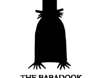 The Babadook Halloween Horror Vinyl Car Decal Bumper Window Sticker Any Color Multiple Sizes Merch Massacre