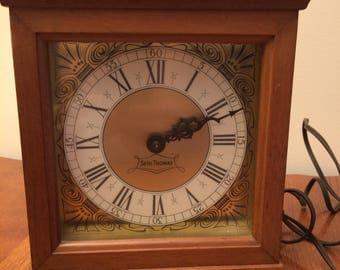 Seth Thomas Electric Mantle Clock Exeter E Model