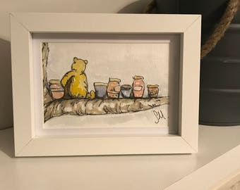 Hand Painted Winnie The Pooh