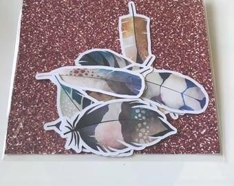 Feathers - Die Cuts / Scrapbooking