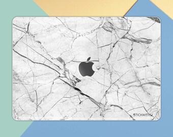 Marble MacBook Skin | MacBook Cover MacBook Pro 13 inch Skin White Marble MacBook Sticker MacBook Decal Air 13 inch Sticker Retina MS 331