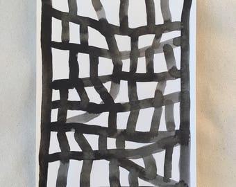 Untitled (Motorway Rock Forms in Black)