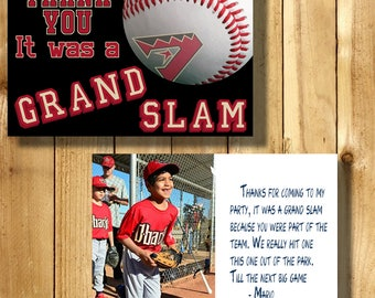 Arizona Diamondbacks 4x6 Thank You Note Cards