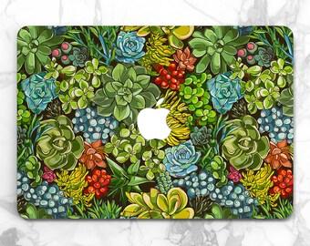 succulent laptop floral case macbook case macbook pro 2017 macbook new macbook air case mac pro macbook air cactus macbook air 13 macbook