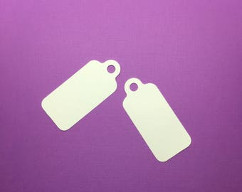 "3"" x 1.5"" Blank Cardstock Gift Tags *Any Color*"