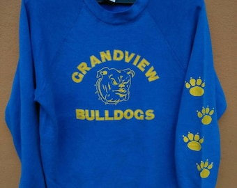 Vintage sweatshirt grandview bulldogs