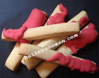 French Fry Cookies | Custom Decorated Sugar Cookies | Fake Fast Food | April Fool's