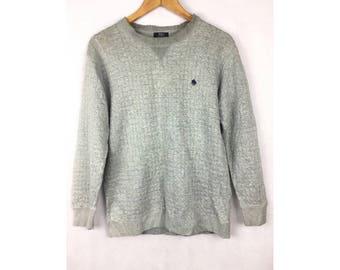 POLO British Country Sport Long Sleeve Sweatshirt Medium Size