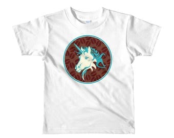 Unicorn short sleeve kids t-shirt