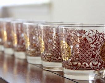 libbey glasses vintage libbey glassware cocktail glasses mid century libbey libbey lowball - Libbey Glassware