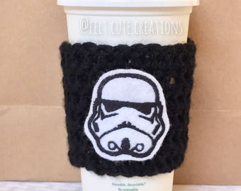 Stormtrooper Coffee Cozy