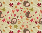 Hedgehog Natural, A249-1  from the Autumn in Bluebell collection designed by Lewis & Irene LTD.