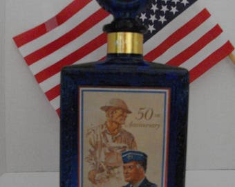 American Legion Bourbon Bottle/Vintage Barware/Collectible