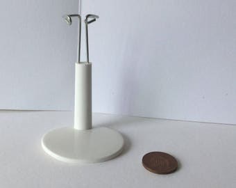 DollHouse miniature One inch scale adjustable Doll stand 8cm -11cm