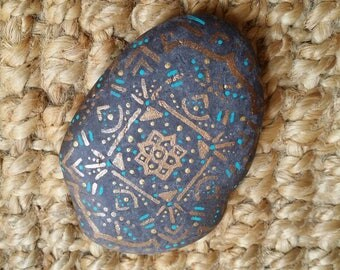 Painted Rock Mandala