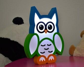 Owl nightlight