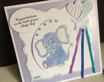 new baby - boy or girl -cute baby elephant