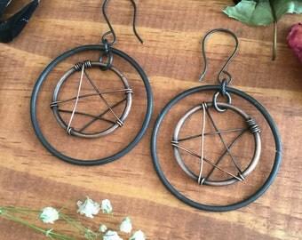 Pentacle hoops