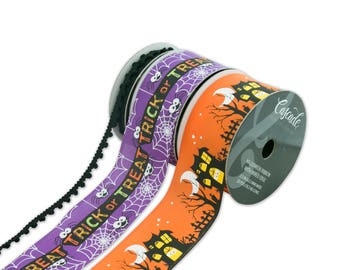 Halloween Combo Pack Ribbon, Halloween Whimsy Collection