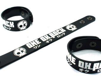 One Ok Rock New! Rubber Bracelet Wristband Kanjou Efekuto Ork145Na