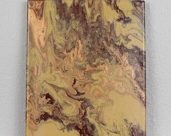 """Acrylic Fluid Painting """"Mizar"""" 8""""x10"""""""