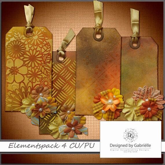 Digital tags / labels for Autumn / Fall CU ok