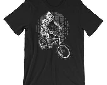 Ride Bike To Kill Short-Sleeve Unisex T-Shirt