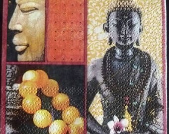 Paper towel zen Buddha attitude