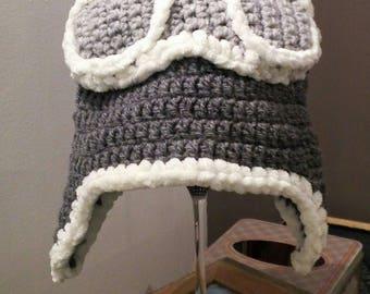 Crochet Aviator adult Hat