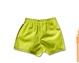 Baby clothes / girl or boy shorts / 12 months birthday gift