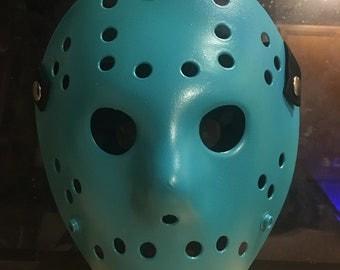 Retro Jason Friday the 13th replica hockey mask