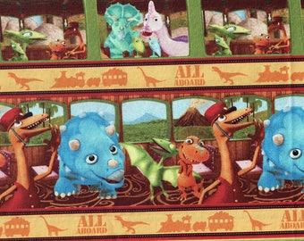 Dinosaur Train Fabric