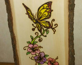 Butterfly and Flower Wall Decor