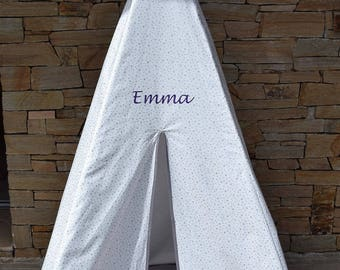 Child boy or girl TEPEE home cabin TIPI tent