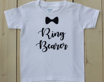 Ring Bearer Shirt, Ring Security Shirt, Custom Ring Bearer T-Shirt, Ring Security Onesie, Custom Ring Secutity Bodysuit, Ring Bearer T-Shirt