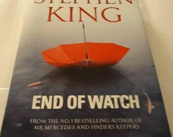 2016 Hardback Edition End Of Watch By Stephen King