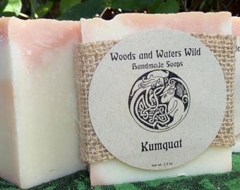 Kumquat | Handmade soap | Natural soap | Cold process soap | Vegan soap