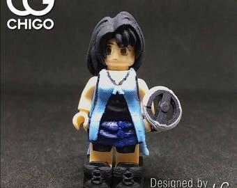 Chigo Lego custom moc minifigures final fantasy VIII FF8 Rinoa Heartilly