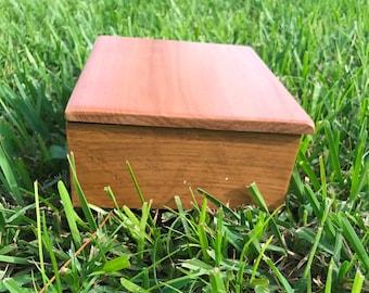 Teak Jewlery Box