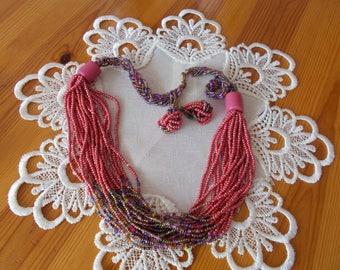 Loop necklace set